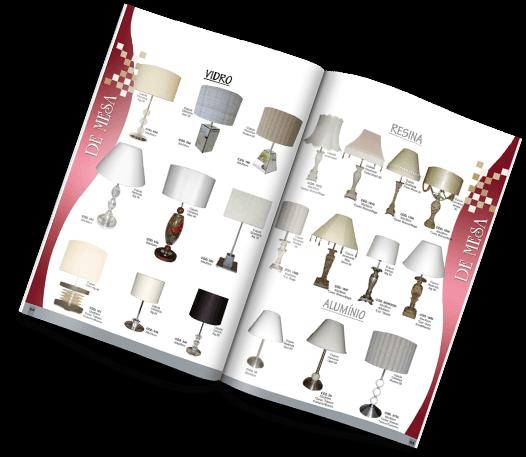 Catálogo Vitual - Craquelê - Fábrica de Luminárias