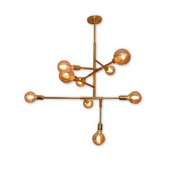 Lustre Lâmpada Filamento - Cód. 3858